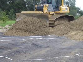 Efektywne wykorzystanie materiałów geosyntetycznych.